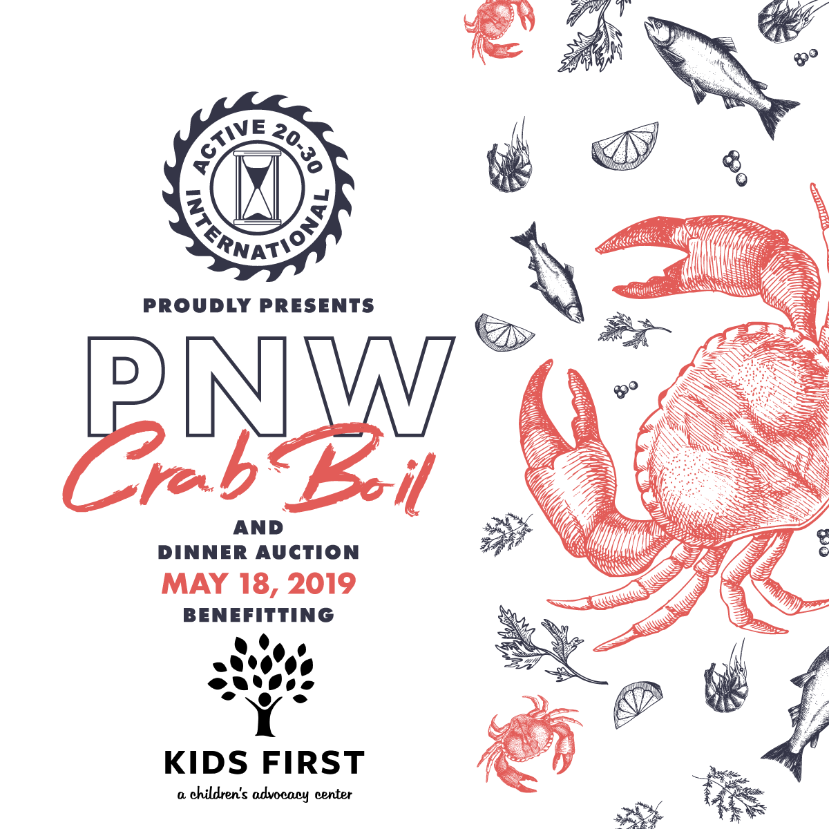 PNW Crab Boil & Dinner auction
