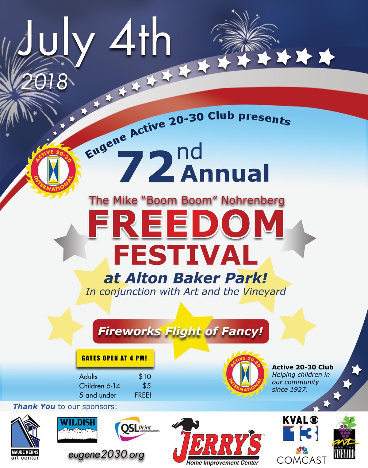 Freedom Festival 2018